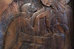 kastelet-ivan-mestrovic-spalato-deposizione-legno-intagliato