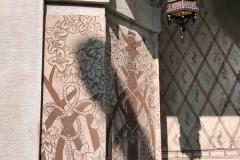 Brunate-como-villa-decorazioni-liberty-lanterna-dettaglio-facciata